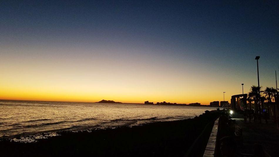 EyeEm Selects Sunset Beach Outdoors Beauty In Nature Scenics Sea Sky Water Nature Night Puerto Peñasco Rocky Point
