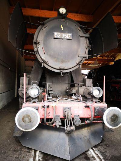 Train in industry