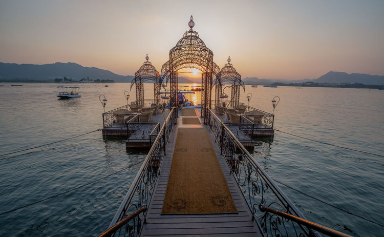 Travel Travel Photography Architecture Beauty In Nature Building Exterior Built Structure Day Nature Nautical Vessel No People Outdoors Place Of Worship Religion Scenics Sea Sky Spirituality Sunset Transportation Travel Destinations Water