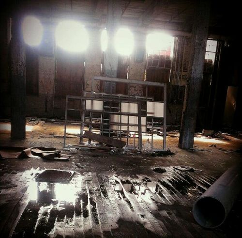 With the lights out...it's less dangerous...here we are now... Abandoned Urbex AMPt - Abandon May Be A Body Inside