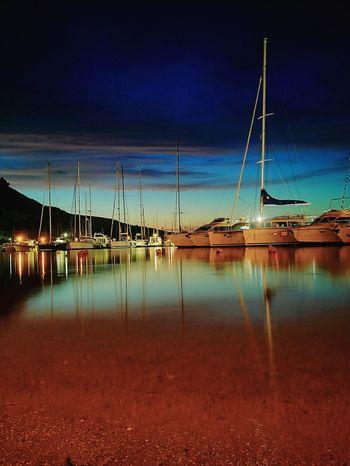 Huwaeileica Nightphotography Harbour Castellammare Del Golfo Sicily, Italy Sicily Sicily ❤️❤️❤️