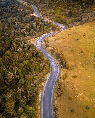 What's around the corner? Drone  Road Curve Winding Road Aerial View High Angle View Landscape Scenics Nature Summer Beauty In Nature Tranquility No People Mountain Mountain Road Outdoors Zigzag Day Flying Planet Earth Sky Dronephotography Lost In The Landscape Dji