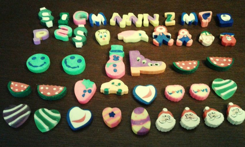 Cute Erasers My Collection