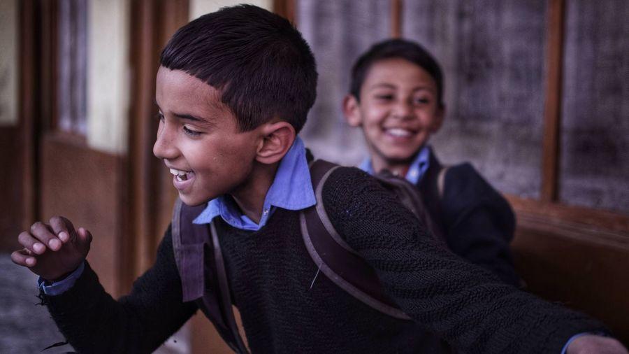 Schools of indian village