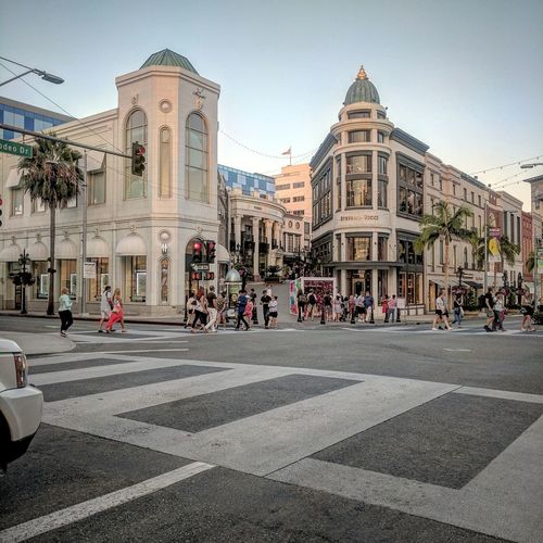 Yeezy, yeezy, take me shopping on Rodeo Travel Destinations City City Street Building Exterior Beverly Hills California Rodeo Drive