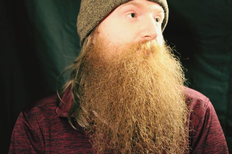 The beard is here