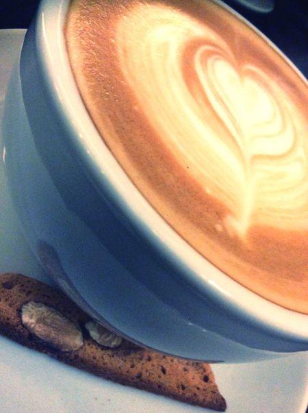 Monday start with latte! Enjoy!