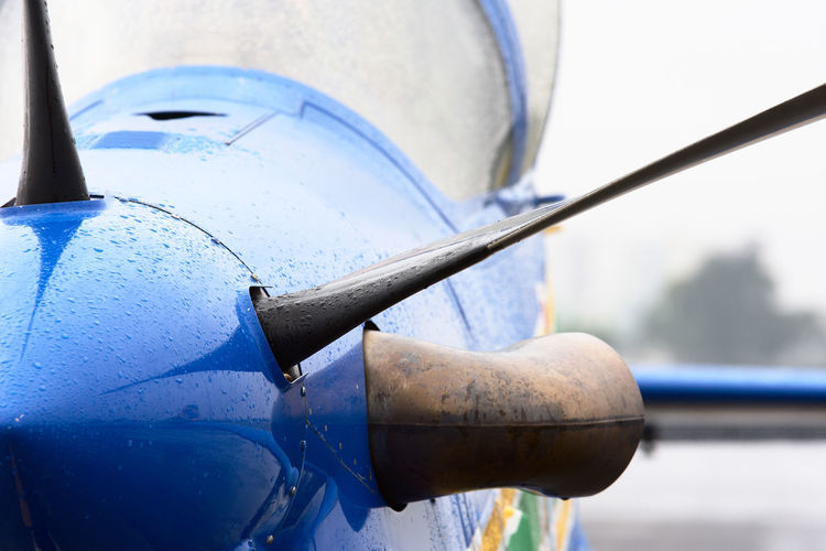 Supertucano A-29 SuperTucano Airplane Blue Close-up Fighter Plane Metal No People Outdoors