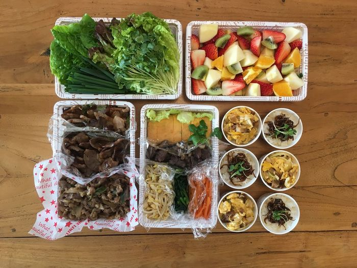 Yummy 焼肉弁当 やきにく お弁当 楽屋弁当 差入れ Lunch Box Food Food And Drink Healthy Eating Wellbeing Choice Freshness Variation Vegetable Fruit No People