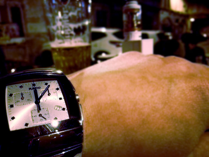 Alone I'm Several Alone In The Dark Beer Drink Go Home Headphones Headphones On ♡ Music No More Friends No More Winter  Warm Night You Work Tomorrow Watch Luxury Watches Rado Nice Watch Sintra Chronograph Rado Sintra
