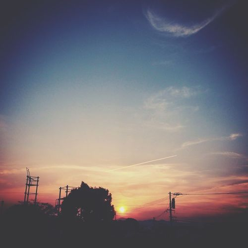 Sunset Photo The Sunset 今日の西側