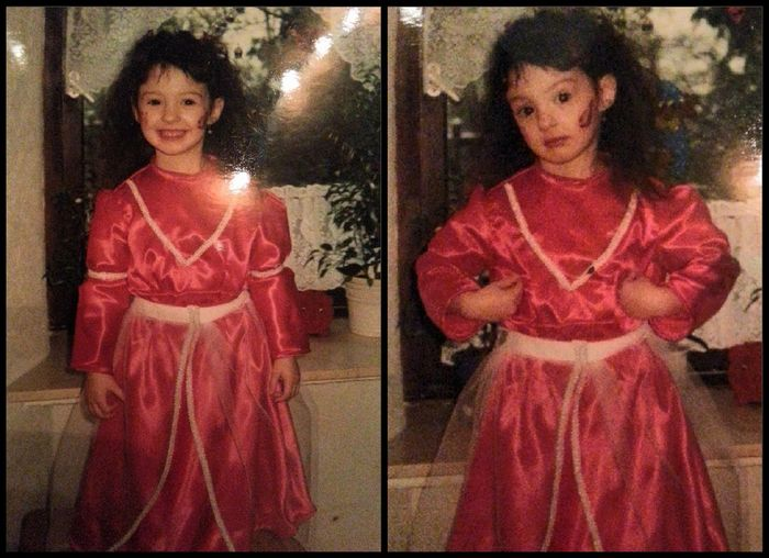 That's Me As A Little Girl (;