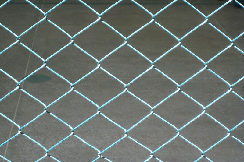 Backgrounds Chainlink Fence Close-up Diamonds Fence Focus On Foreground Protection Repetition Repetitive Safety Squares