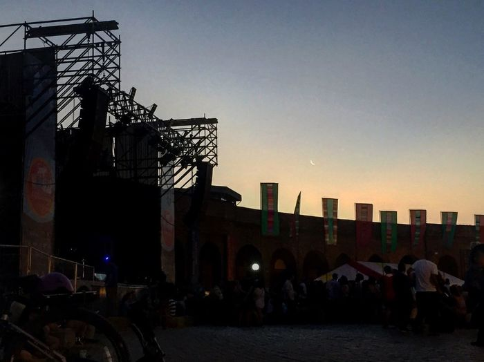Festival Womad Chile 2018 Built Structure Outdoors Building Exterior Real People Sunset City People