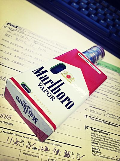 ?? HANAMOD Keep Calm & Vape On Marlboro Red