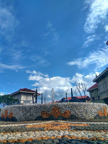 Sky No People Tree Outdoors Cloud - Sky Architecture Day History Stone Building Exterior Lascasasfilipinasdeacuzar Bataan Philippines Tour Travelphotography Cityscape Heritage Site Urban Skyline