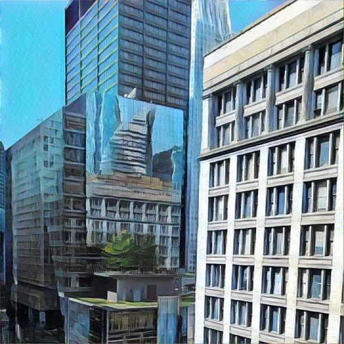 Chicago Architecture Modern Office Building Prisma