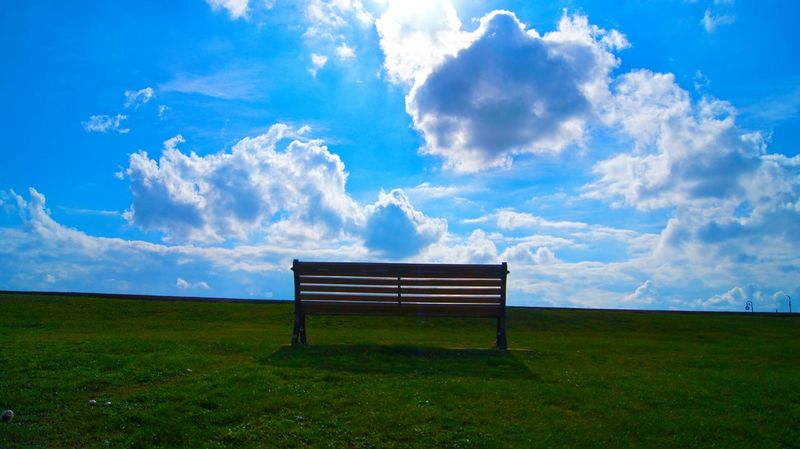Iow Isle Of Wight  Sunny Bench Uk England🇬🇧 View To Heaven Showcase: February