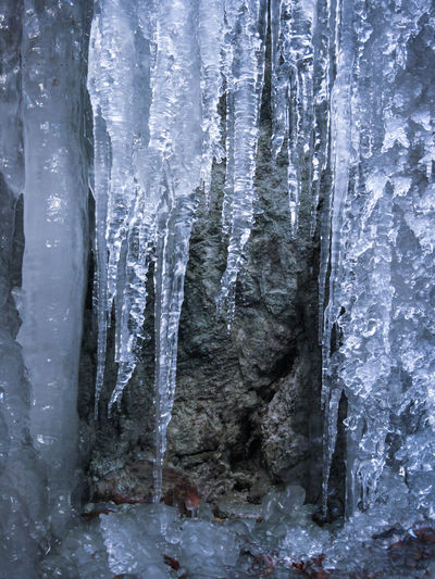 Adventure Blue California Cold Frozen Ice Icicles Mountains Nature Outdoors Rock Rocky Rough Snow Textured  Winter