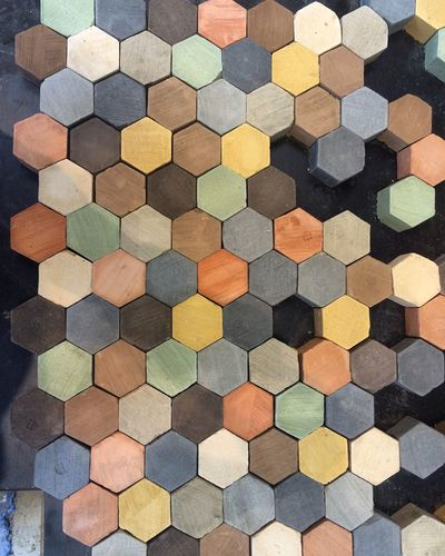 Earth Brick Earth No People High Angle View Pattern Backgrounds Full Frame Day Multi Colored Close-up Indoors