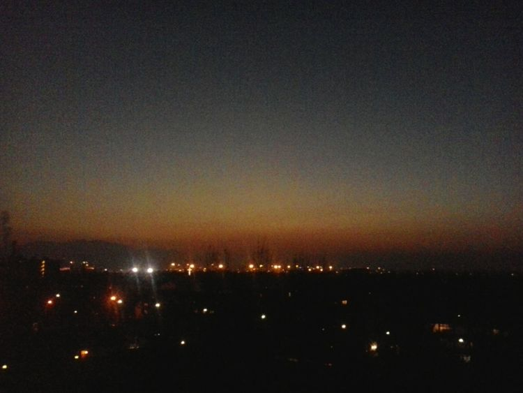 Sunset Cielo Terrazza Tramonto