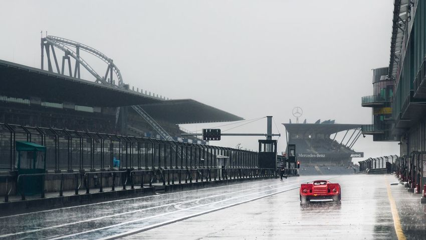 Nurburgring Box Racing Car Racetrack Rain Driving Eye4photography  Cars