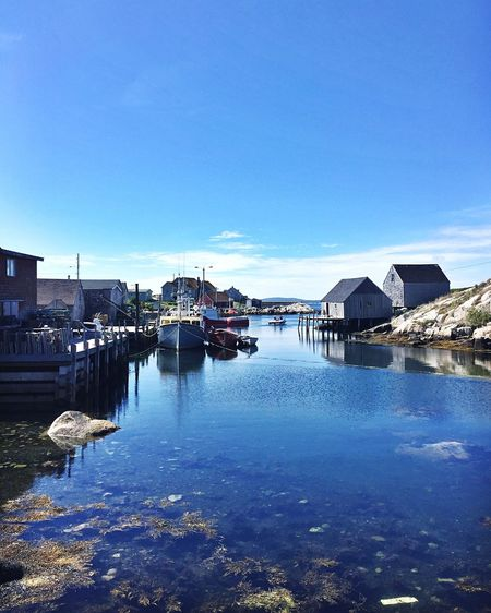 Peggy's Cove Travelnomad NOMAD Eastcoastlifestyle  Eastcoast Home Water Ocean Peggyscove Reflection Dockside Boats EyeEmNewHere
