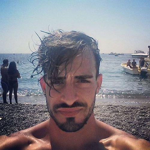 La perla della costiera... questo sì che é mare! Positano Positanocoast Amalficoast Sea Me Selfie Follow4follow F4F Like4like L4l