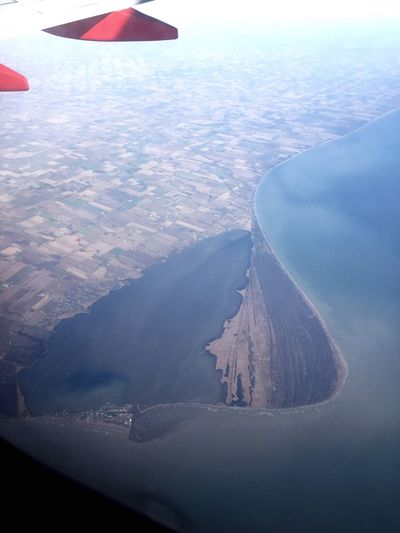 Rondeau Provincial Park Canada Lake Erie Ontario From An Airplane Window Rondeauprovincialpark Greatlakes