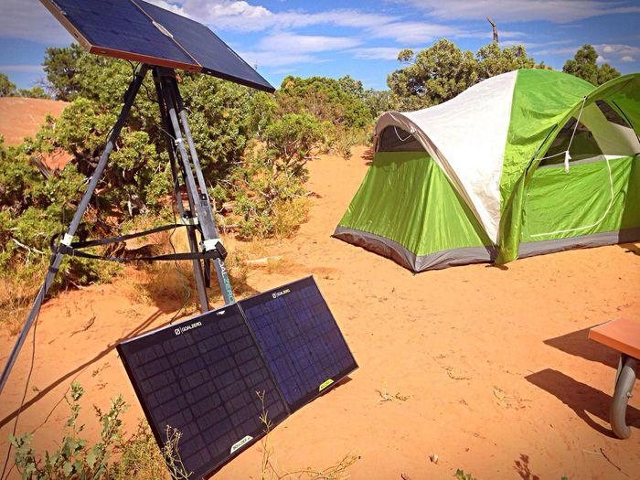 Goal zero for power anywhere Camping Being Adventurous Enjoying Life Beautiful Day