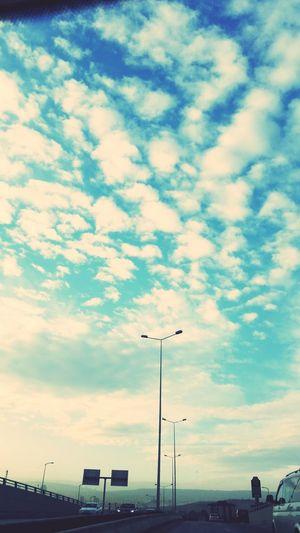 Göğe doğru vol 2 ?? Gündüzyolculuk Bulut☁ Göğebakmadurağı Sky And Clouds