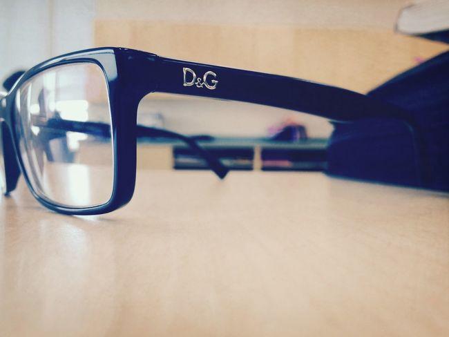 My Glasses Black D&G