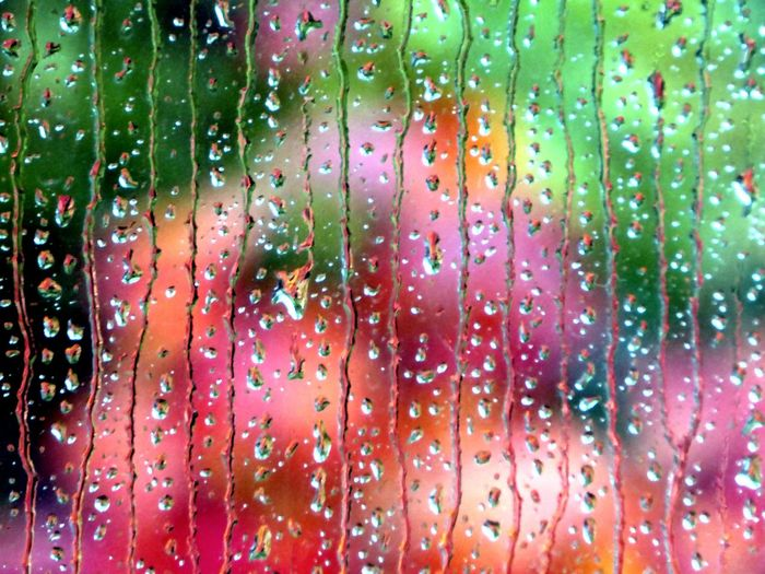 Rain On My Window Backgrounds Full Frame Close-up RainDrop Enjoying The View Simple Beauty My Soul's Language Is📷 For My Friends 😍😘🎁 Tranquil Scene Autuumbeauty🤗 Bad Weather Good Mood You Raise Me Up✨ Untamed Heart Tranquility EyeEm Dropmaster Beauty In Nature Multi Colored Splish Splash Color Fun Perspectives On Nature My Best Photo