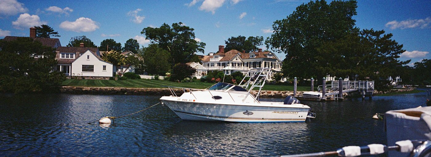 Koduckgirl Nautical Vessel Water Sea Recreational Boat Xpan Film
