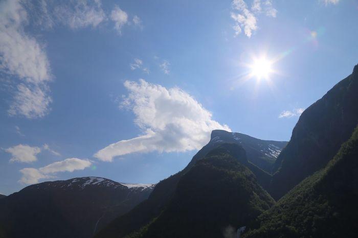 Blue blue sky Sky Sky And Clouds Blue Sky Flåm Norway