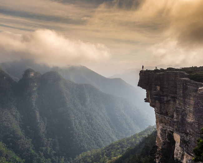 Early moody mornings at Kanangra Walls in the Greater Blue Mountains area , New South Wales. Australia EyeEm Best Shots EyeEmNewHere Nature New South Wales  Beauty In Nature Cloud - Sky Environment Landscape Mountain Mountain Range Nature Non-urban Scene Outdoors Scenics - Nature Sky Sydney Tranquil Scene Tranquility The Great Outdoors - 2018 EyeEm Awards The Traveler - 2018 EyeEm Awards A New Beginning Capture Tomorrow