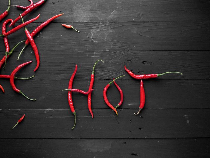 red chili Black