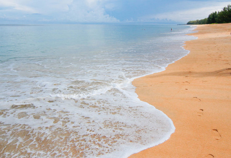 Aquatic Sport Beach Beauty In Nature Horizon Over Water Land Nature Outdoors Sand Scenics - Nature Sea Surfing Thailandtravel Trip Photo Water