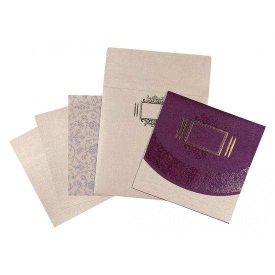 The beauteous designs of Christian Wedding Invitations, General are sure to offer you a delightful treat. The ultimate selection of ivory,purple color is certainly the best fit for the wedding card. The card has been constructed out of fine shimmer paper that assures a great quality and look. Visit https://www.a2zweddingcards.com/card-detail/AC-1547 Christian Invitations Christian Wedding Cards Christian Wedding Cards Online, Christian Wedding Invitation Cards Christian Wedding Invitations Christian Wedding Invitations Online, Online Christian Wedding Cards Online Christian Wedding Invitations Wedding Cards