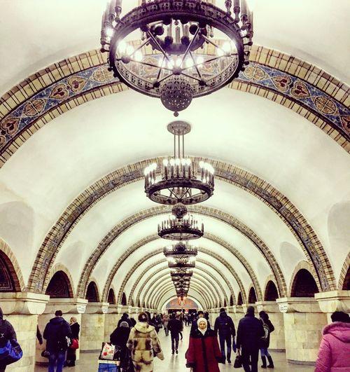 Kiev metro Kyiv,Ukraine
