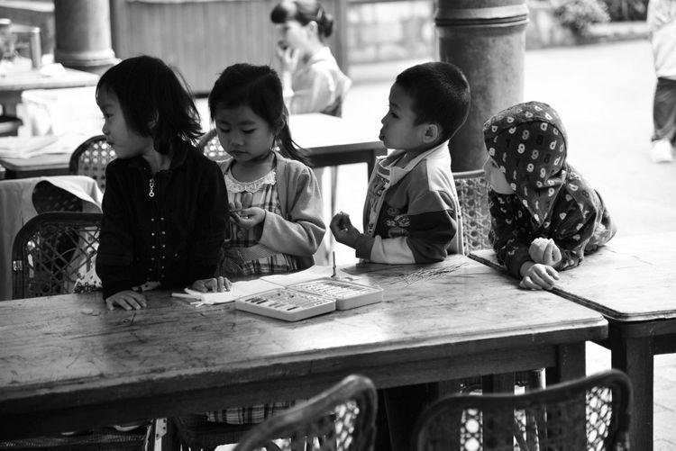 Blackandwhite Children TheMinimals (less Edit Juxt Photography)