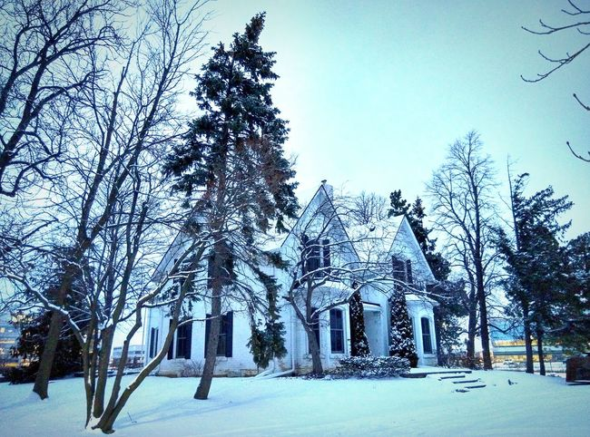 Snow Day ❄ House White Calm Isolated Lovely Weather Love Home Yard :3 Wintertime Dreamhome