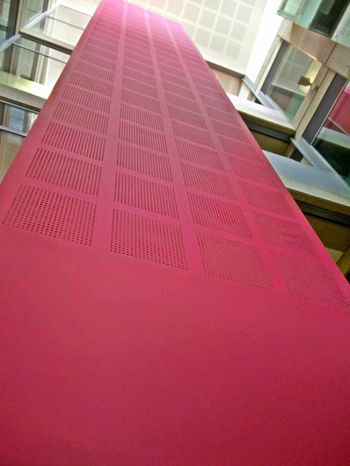 pretty in pink Lift Elevator Pink City Modern Architecture