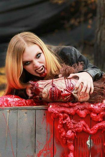 That's Me Prettylittlemonster Vamp Photography Halloween Vampire Vampire Diaries Modeling Horror Halloween_Collection