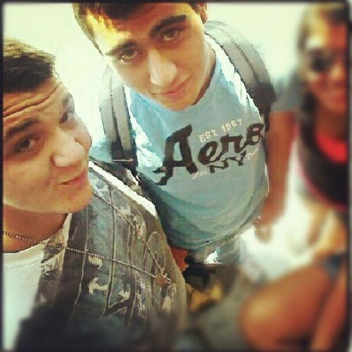 I know its Nationaboyfriendday but if I have these two guys by my side I don't need a boyfriend lol I love my best guy friends :D Someday I'll be good for someone...