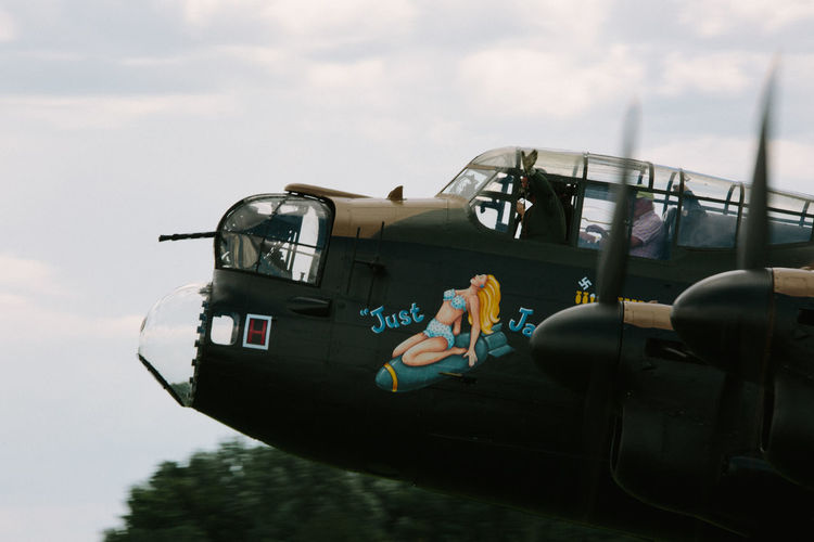 World War 2 Air Vehicle Airplane Avro Anson Cloud - Sky Day Lancaster Bomber Military Mode Of Transport No People Outdoors Sky Transportation