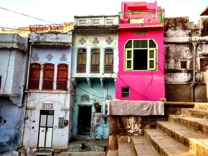 Architecture Building Building Exterior Built Structure Coloured House Coloured Houses No People Outdoors Window
