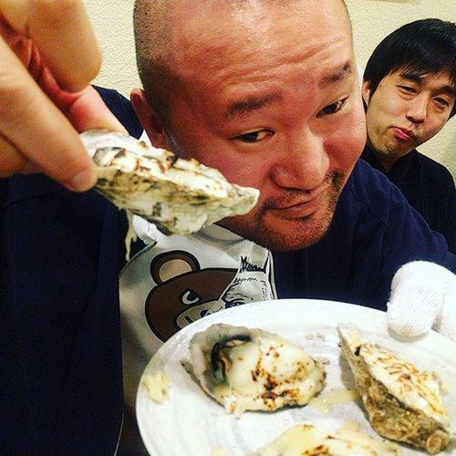 最高の瞬間!牡蠣食べ放題  うまい #本当の気持ち