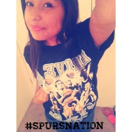 I Know My Spurs Lost But I Will Always Be A Spurs Fan To Me #spursnation And @austinmahone I Know U Love The Spurs Too