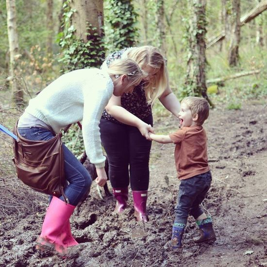 Mud fun Godson Forest Friends Photography